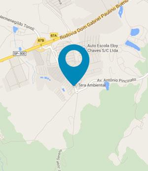 Guia Aterro Sanitário e Tratamento de Chorume I Mapa Escritório Comercial