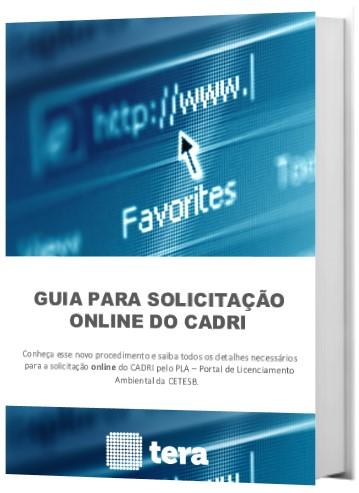 Guia para Solicitação Online de CADRI