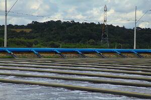 Tratamento de Efluentes - Lagoa de Aeração Tera Ambiental
