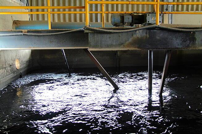 tratamento do lodo industrial e sanitário