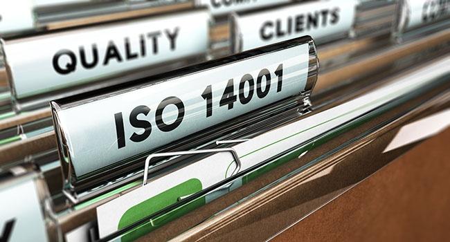 Aplicação da ISO 14001 no tratamento de resíduos