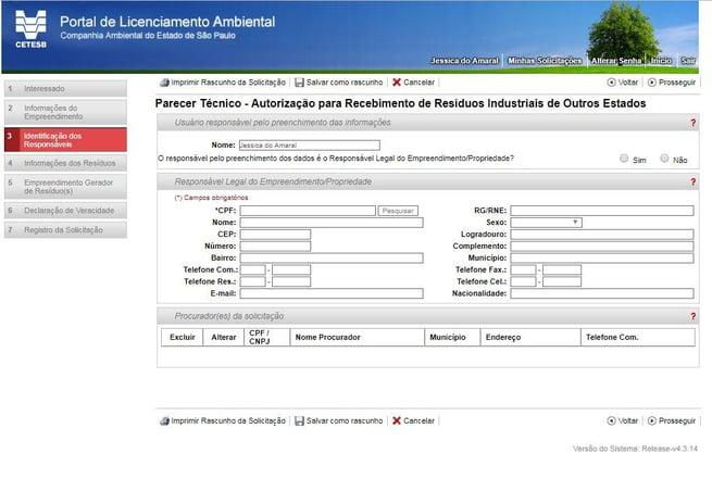 Portal de Licenciamento Ambiental