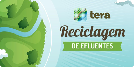 Infográfico Reciclagem de Efluentes