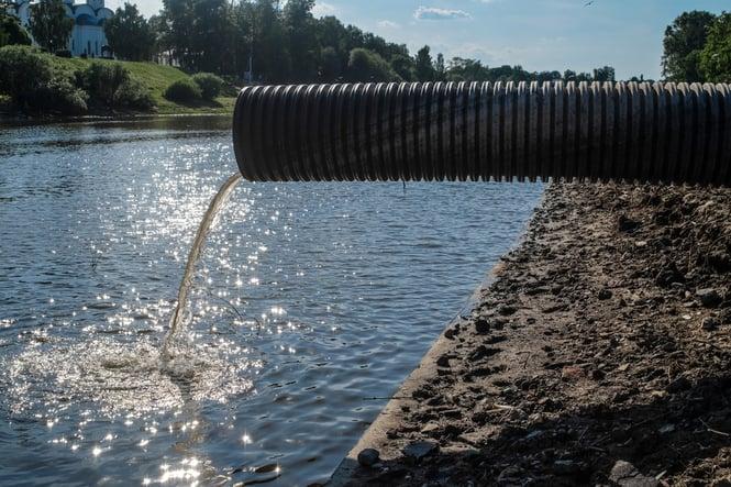 poluição nos rios - tratamento de efluentes