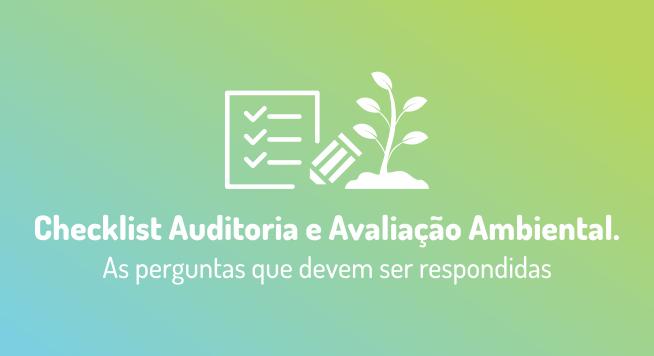 Checklist Auditoria e Avaliação Ambiental